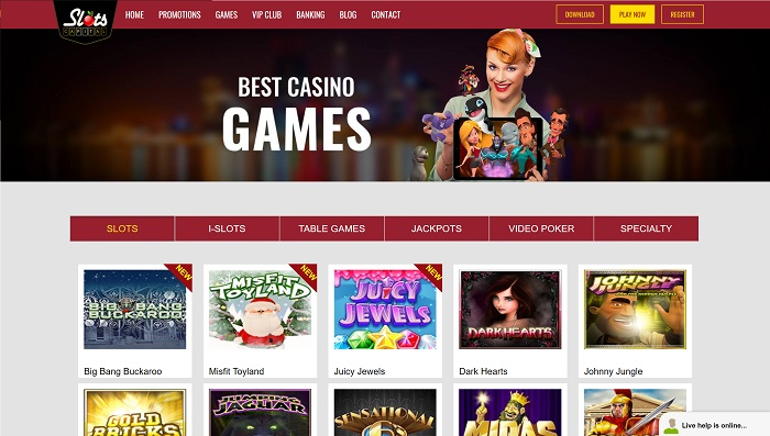 Slots Capital Casino Welcome AU & US Players!