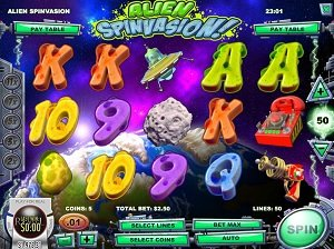 Alien Spinvasion Rival Slot