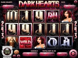 Dark Hearts Rival Slot