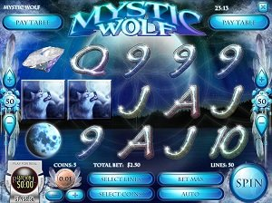 Mystic Wolf Rival Gamings Slot