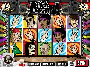 Rock On Rival Slot