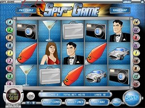 Spy Game Rival Slot Machine